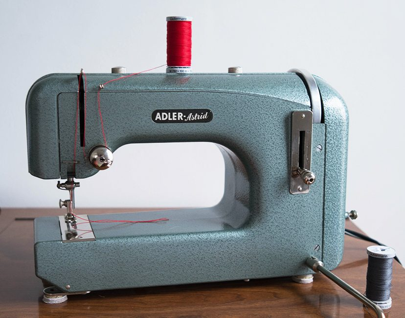 1930's ADLER HOME SEWING MACHINE – ASTRID!